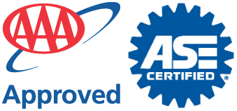 AAA & ASE Logos, Precision Automotive, Medfield, MA